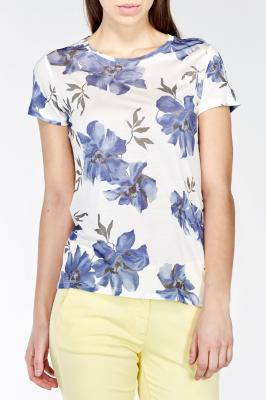 Tričko ISLAND FLOWER T-SHIRT SHORT SLEEVED