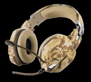 TRUST GXT 322D Carus Gaming Headset - desert camo, 22125