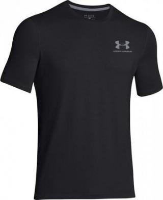UNDER ARMOUR Left Chest Logo Tee (1257616-001) velikost: M