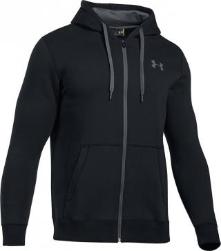 UNDER ARMOUR Rival Fitted Full Zip (1302290-001) velikost: S