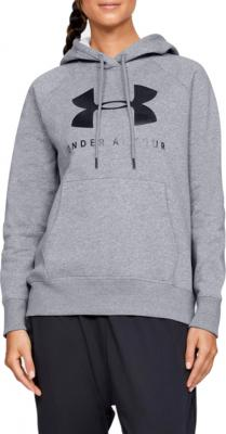 Under Armour Rival Fleece Sportstyle Graphic Hoodie 1348550-035 Velikost: M