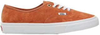 VANS Pánské tenisky UA Authentic Pig Suede Leather Brown/True White VA38EMU5K 45