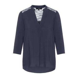 Vero Moda Dámská halenka Boca 3/4 Lace Blouse Color Night Sky M