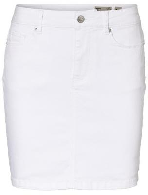 974e41627879 Vero Moda Dámská sukně Hot Seven Mr Short Skirt Color Bright White XL