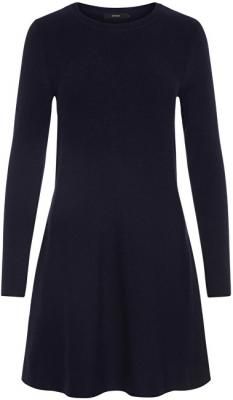 Vero Moda Dámské šaty Nancy Ls Knit Dress Noos Night Sky XL