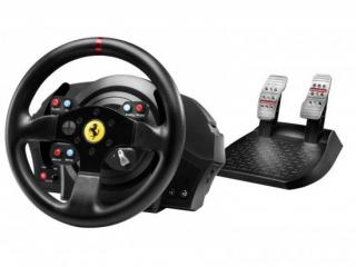 Volant Thrustmaster T300 Ferrari GTE pro PS3, PS4, PC   pedály, 4160609