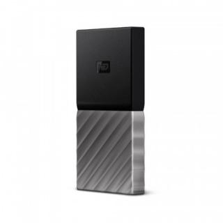 WD My Passport SSD 1TB Ext. USB3.1 Type C , Silver/Black , WDBK3E0010PSL-WESN