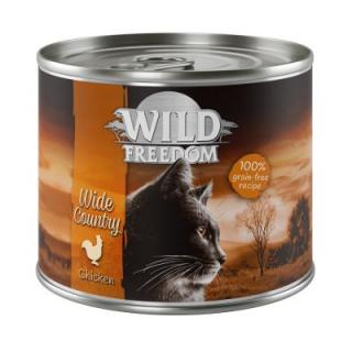 Wild Freedom Adult 6 x 200 g - Wide Country - kuře