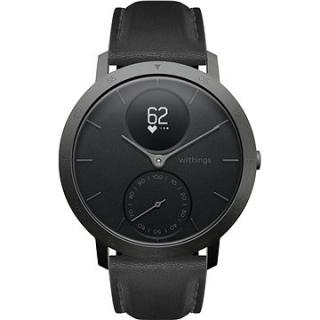 Withings Steel HR (40mm) LIMITED EDITION - Slate Grey / Black (3700546705557)