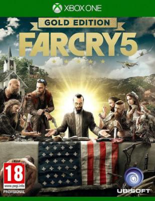 Xbox One Game FAR CRY 5 GOLD EDITION (ENG,PL)