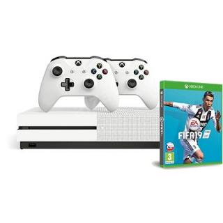 Xbox One S 1TB   extra Wireless Controller   FIFA 19
