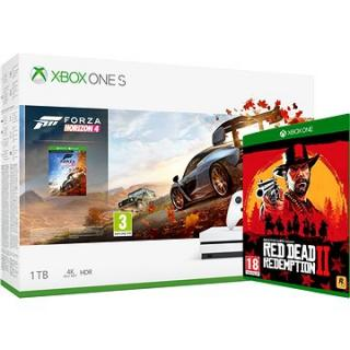 Xbox One S 1TB   Forza Horizon 4   Red Dead Redemption 2