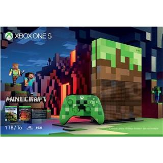 Xbox One S 1TB Minecraft Limited Edition (23C-00011)