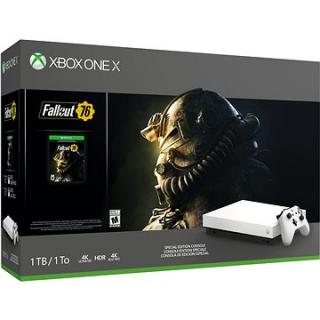 Xbox One X   Fallout 76 Robot White Special Edition (FMP-00057)