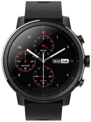 XIAOMI Huami Amazfit Stratos 2S leatherette band, sapphire glass Black