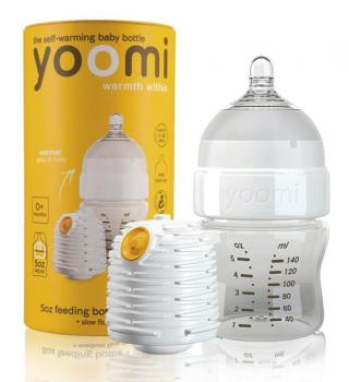 Yoomi 5oz Bottle/Warmer/Teats - Y15B1W