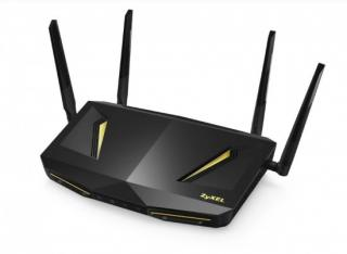Zyxel NBG6817 ARMOR Z2, Simultaneous Dual-Band MU-MIMO Wireless AC2600 Media Router, 802.11ac (800Mbps/2.4GHz 1733Mbps/5, NBG6817-EU0101F
