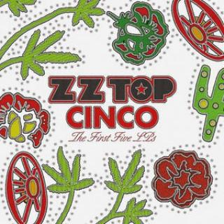 Zz Top : Cinco:the Second Five Lps LP